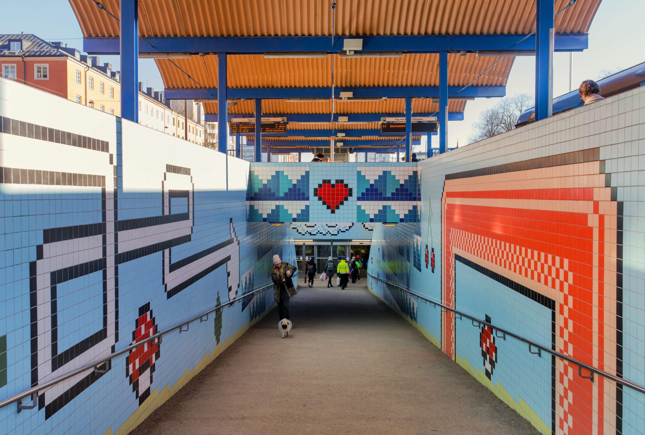 Stockholm Subway Art: 8 Challenges HR Face When Bringing New Hires to Sweden