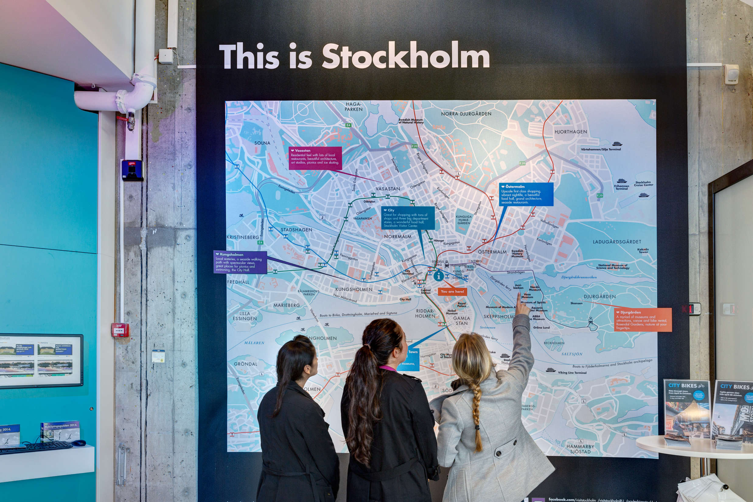 Stockholm visitor center: YOU ARE GIVING YOUR FOREIGN EXPERT MORE THAN A NEW JOB