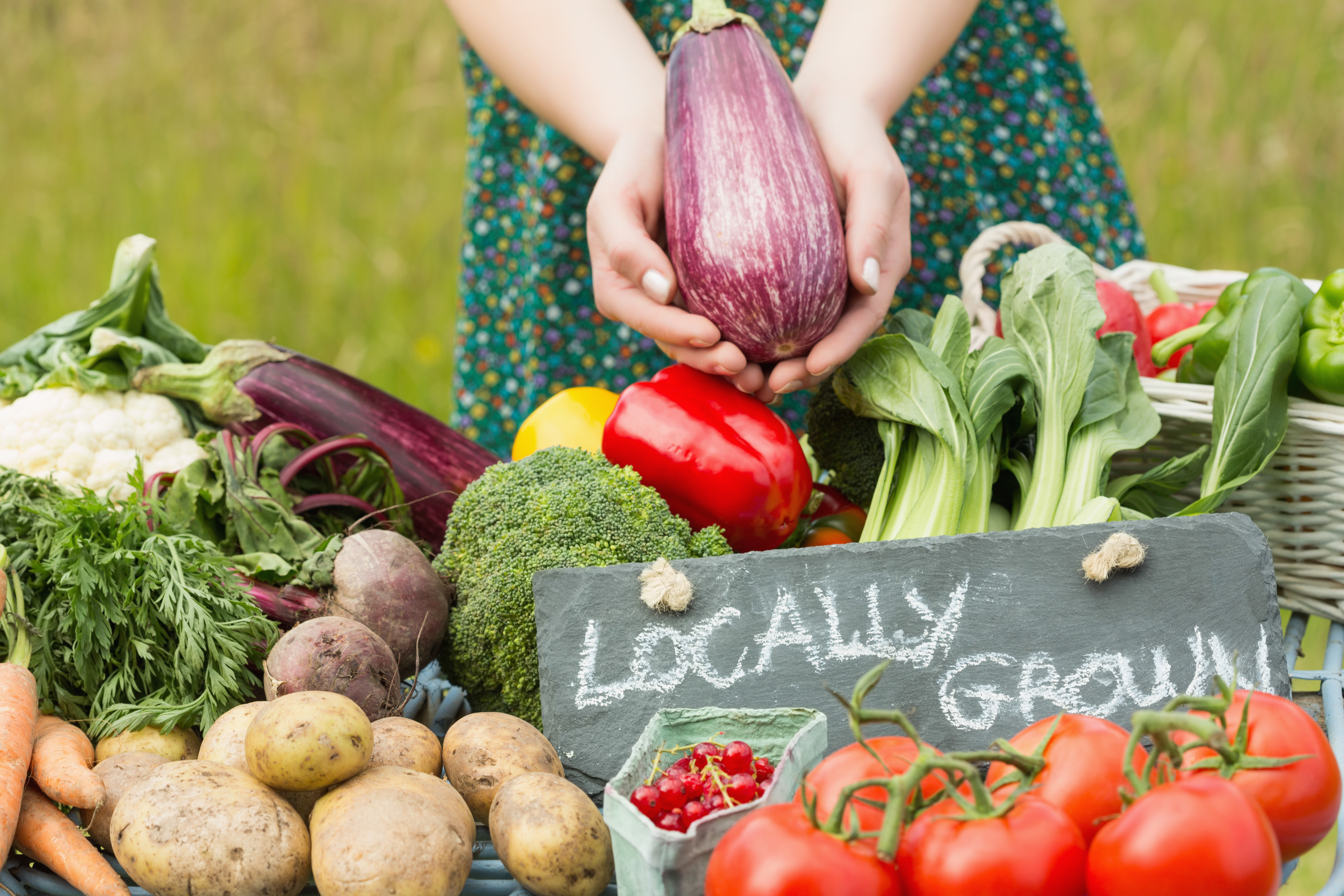 Locally Grown Vegetables: HOW TO PROMOTE A HEALTHY RELOCATION