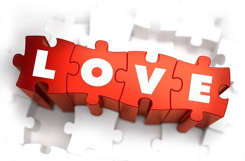 Love - Text on Red Puzzles with White Background: WHAT DOES THE TERM FAMILY MEAN TO THE SWEDISH MIGRATION AGENCY
