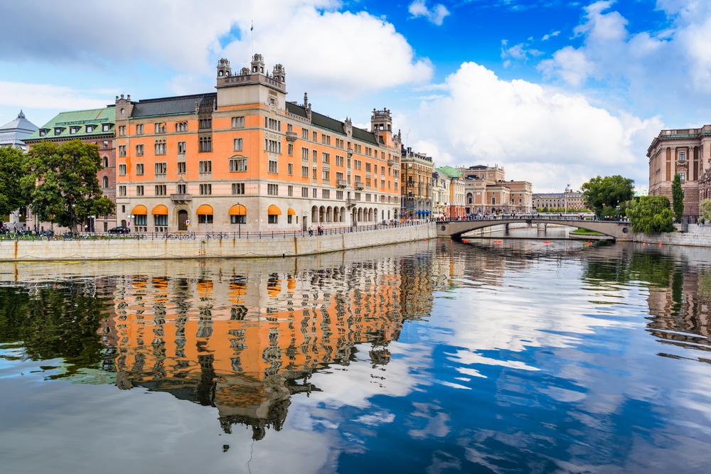 Stockholm, Sweden river cityscape: Swedish Immigration 101
