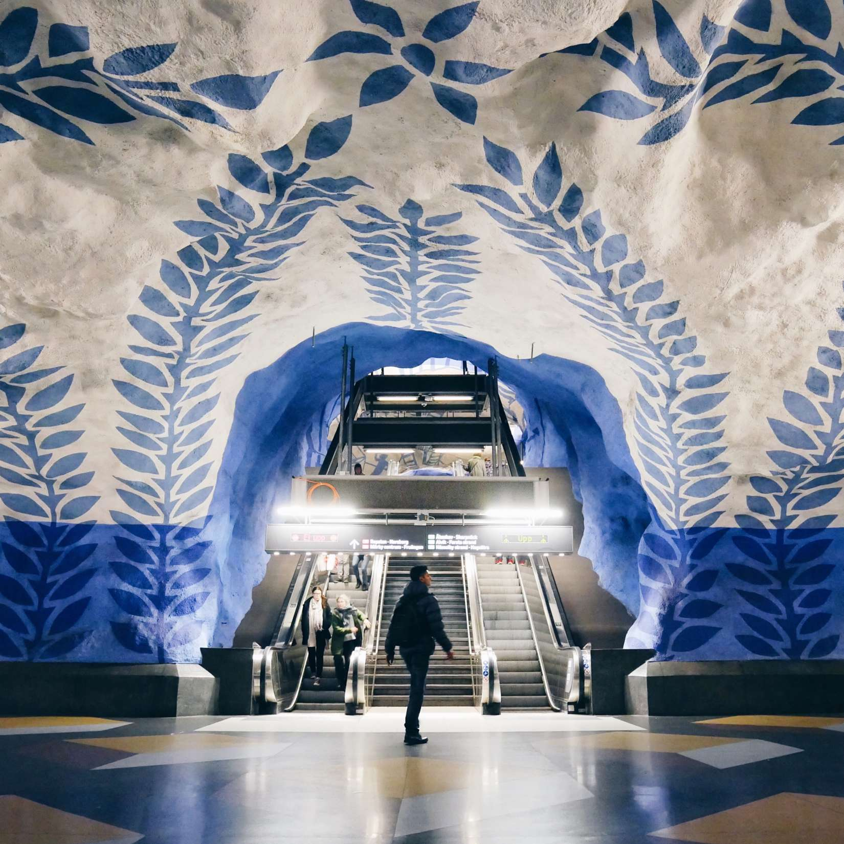 Stockholm subway art:RELOCATION: What You Should Offer More Than Work Life Balance