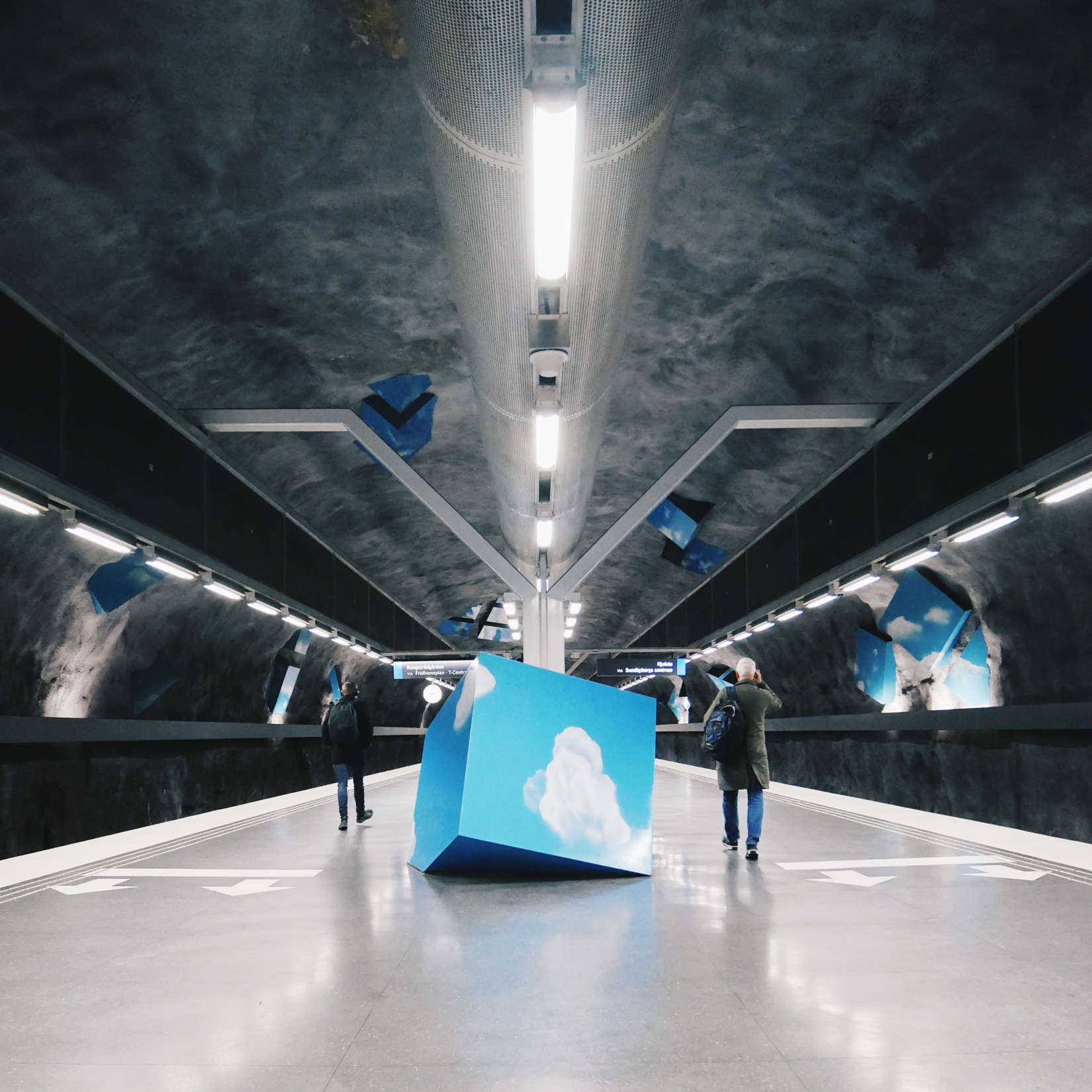 Stockholm subway art:GLOBAL MOBILITY: A WISH LIST FOR TALENTS MOVING TO SWEDEN